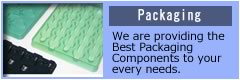 With our Global Newtwork, we provide you the Best Packaging components that cover and protect your products.